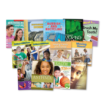 KS2 PSHE Books 14pk  large
