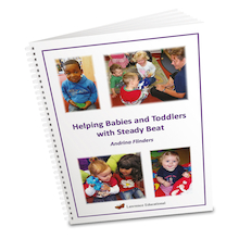 Helping Babies and Toddlers with Steady Beat Book  medium