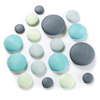 Wooden Stacking Pastel Pebbles 18pk  small