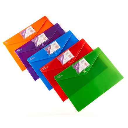 Rainbow Polyfile ID 5pk  large