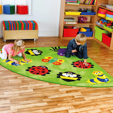 Back to Nature Corner Rug  medium
