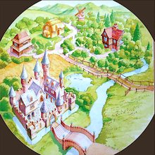 Active World Tuff Tray Fairy Tale Mat  medium