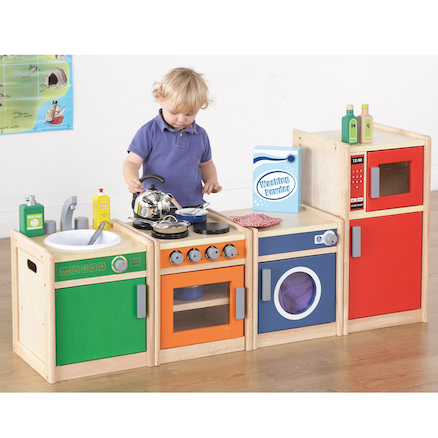 Toddler Role Play Kitchen Range  large