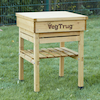 Veg Trug Kids Work Bench Natural Wood  small