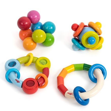 Wooden Grasping Toys Set 2 4pk  large