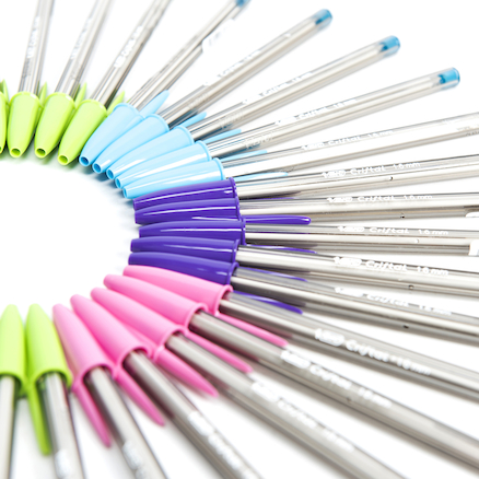 Bic Crystal Fun Colours Ballpoint Pens 40pk  large