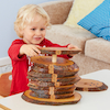 Wooden Rustic Number Stacker 1\-10  small