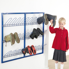 Wall Mountable Wellie Rack  medium