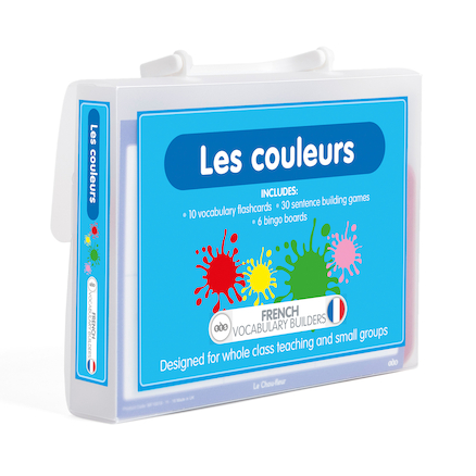 French Vocabulary Builders \- Colours  large