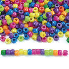 Neon Pony Beads Set 450g  medium