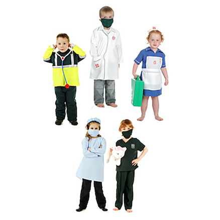 Role Play Occupation Outfit 5pcs  large