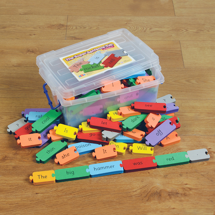 Phonics Super Sentence Tub   large