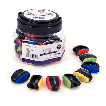 Soft Grip Pencil Sharpeners 36pk  large