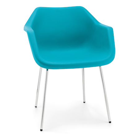 Pod Style Plastic Chairs  large