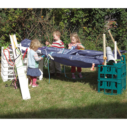 Den Building with Crates Kit  large