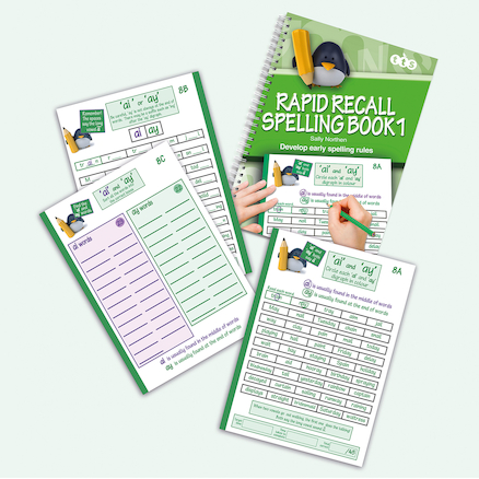 Rapid Recall Spelling Book 1  large