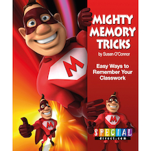 Mighty Memory Tricks Activity Book  medium
