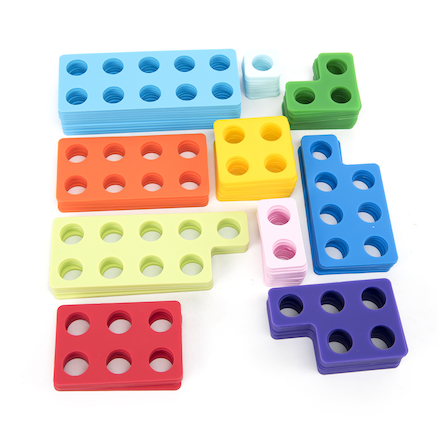 Desktop Silicone Number Frames 80pcs  large