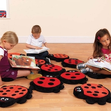 Storytime Ladybird Cushions 13pk  medium