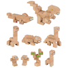 Eco Wooden Construction Bricks  small