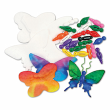 Butterfly Craft Kit 75pcs  medium