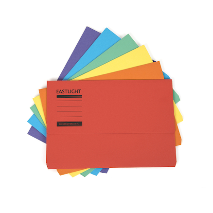 Heavyweight A4+ Document Wallets 25pk  large