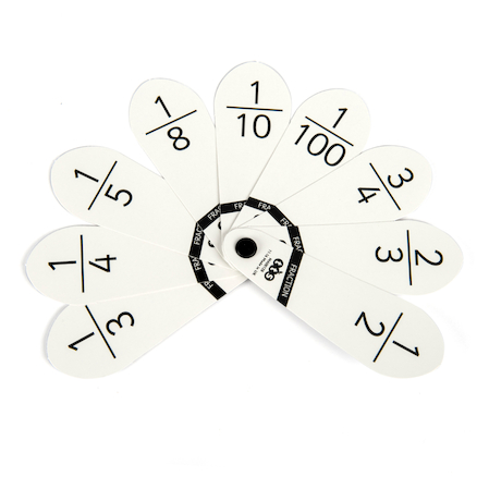 10 Leaf Fraction Number Fans  large