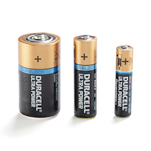Duracell® Ultra Power Batteries  medium