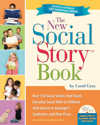 The New Social Story Activity Book and CD  large