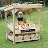 Outdoor Wooden Role Play Market Stall Unit  small