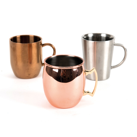 Rose Gold Metallic Cup Collection  large