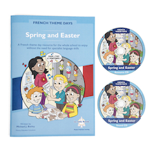 French Theme Days Spring and Easter Book  medium
