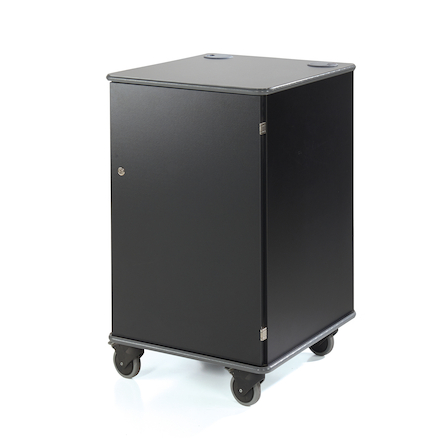 Coloured Mobile Multimedia Cabinets  large
