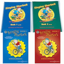 Singing Sherlock Book and CD  medium