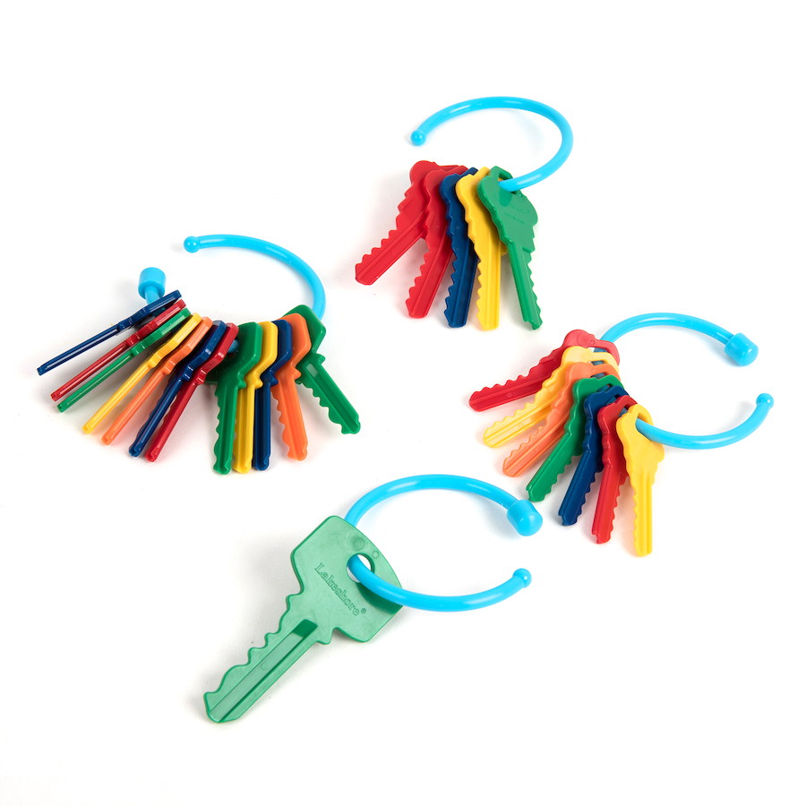 Buy Plastic Key Counters And Key Ring Counting Set Tts