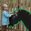 Giant Mark Making Chalkboard Caterpillar  small