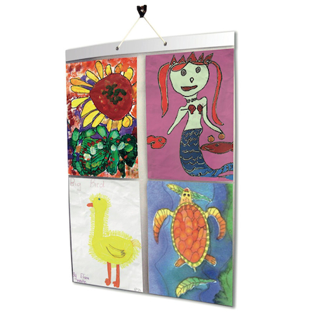 Hanging Photo Display Pockets  large