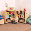Fold And Lock Storage Cabinet  small