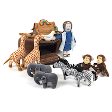 Noah's Ark Story Basket  medium