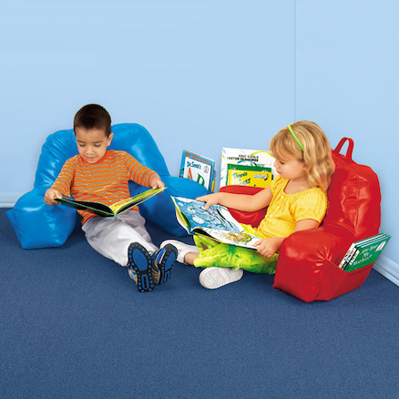 Inflatable Reading Pillow  large