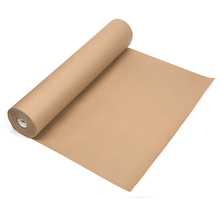 Brown Ribbed Craft Paper Roll 900mm x 250m  medium