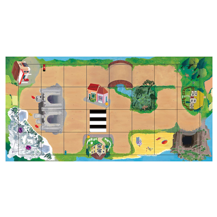 Magical Bee\-Bot Adventure Mat  large
