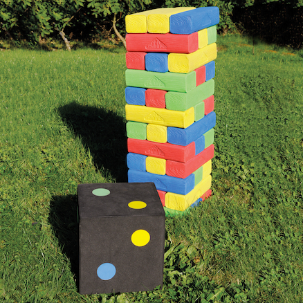 Giant Outdoor Tower Game  large