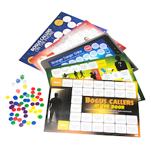 Bogus Callers and Online Safety Board Games  medium