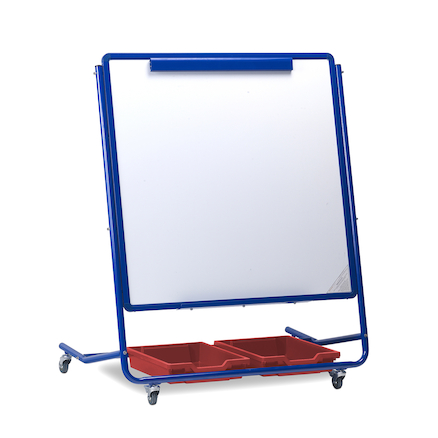 Mobile Magnetic Storage Easels  large
