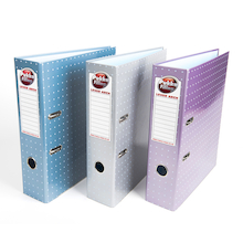 Pukka Metallic Lever Arch Folders  medium