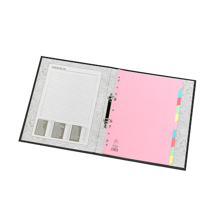 A4 Manilla File Dividers 10 Part  large