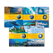 Oceans of the World Book Pack 5pk  medium