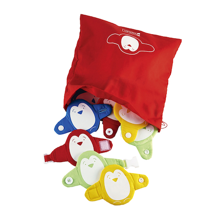 Fastening Manipulative Penguins 16pcs  large