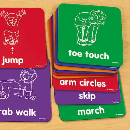 Lets Get Moving! Activity Mats  large